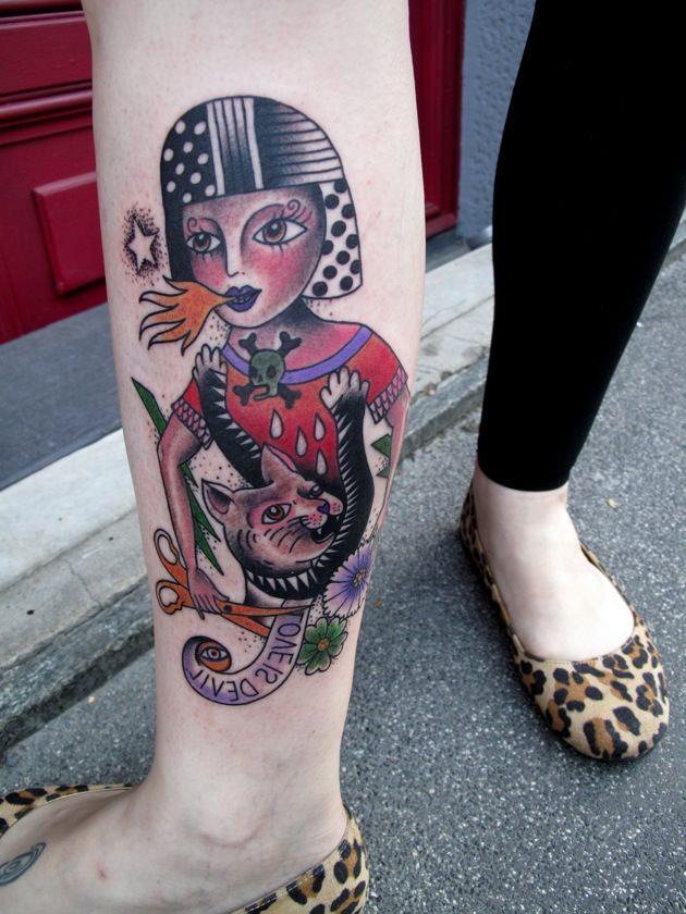 amanda toy tatuatrice milano