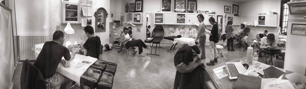 foto officina tattoo