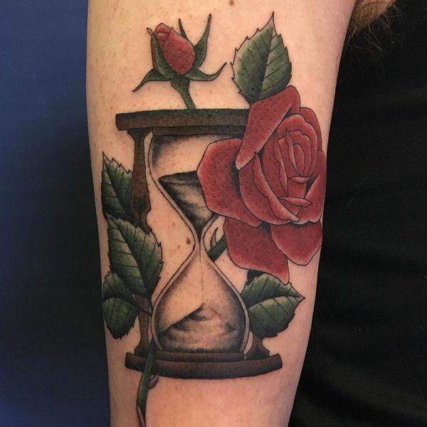 rosa tatuaggio